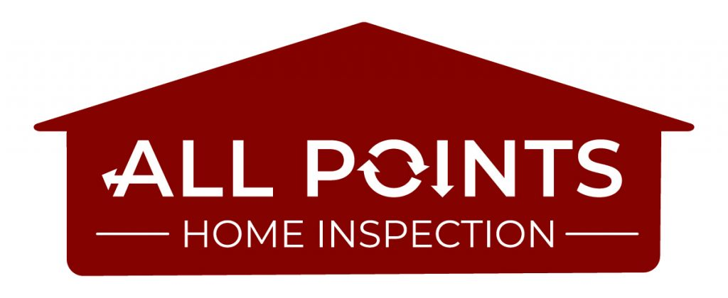 All Points Home Inspection Logo - Red